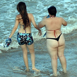 Tamandare Beach, Brazil - Beach Voyeur, Bikini Voyeur