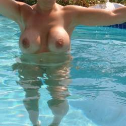 Large tits of a neighbor - Judy