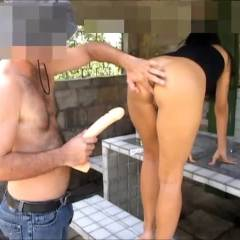 Selma Brasil - Big Dildo In My Ass - Outdoors, Toys