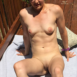 Stacey Sunbathing - Shaved