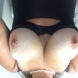 Large tits of my girlfriend - Submissivequeen