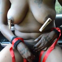 Free Being Naughty - Big Tits, Ebony, Masturbation, Shaved, Tattoos, Toys