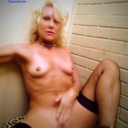 I Touch Myself - Blonde, High Heels Amateurs