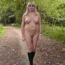 Love Being Naked In Public - Big Tits, Body Piercings, Nature, Shaved