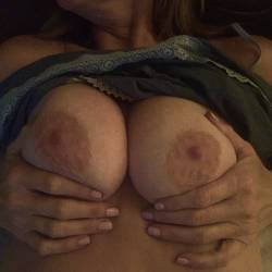 Large tits of my wife - BrownieBear