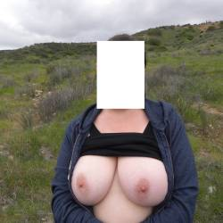 Extremely large tits of my girlfriend - Girlfriend