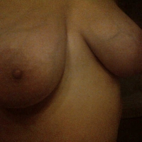 Large tits of my wife - Natalie