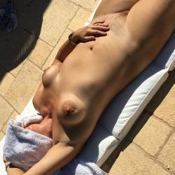 Large tits of my wife - Queen Jan