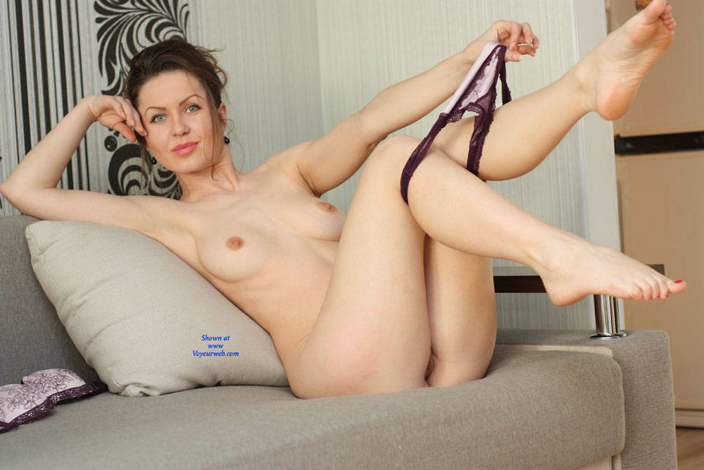 Nicole Stripping On Sofa - Big Tits, Blue Eyes, Brunette Hair, Erect Nipples, Firm Tits, Full Nude, Nipples, Perfect Tits, Strip, Sexy Body, Sexy Girl, Sexy Legs, Sexy Lingerie , Nude, Naked, Nicole, Stripping, Sofa