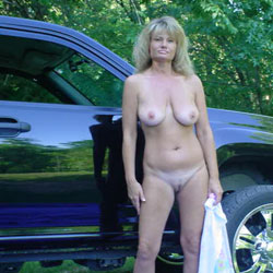 Younger Years - Blonde, Big Tits, Outdoors