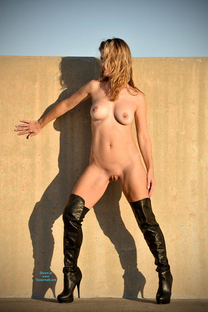 Naked Blonde Wearing High Boots Outside - Big Tits, Blonde Hair, Boots, Exposed In Public, Firm Tits, Full Nude, Heels, Naked Outdoors, Nipples, Nude In Public, Perfect Tits, Pussy Lips, Shaved Pussy, Sexy Legs , Naked, Big Tits, Blonde Girl, High Boots, Outdoor, Pussy Lips