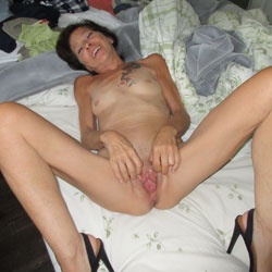 My Exhib For You  - Brunette, High Heels Amateurs