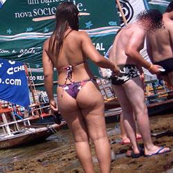 Porto De Galinhas Beach - Beach Voyeur, Bikini Voyeur, Brunette