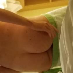My ass - Sexy blonde