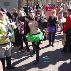 Mardi Gras 4 - Flashing, Public Exhibitionist, Public Place