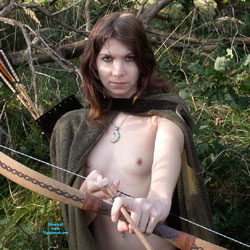 Nude Arrow Girl In Nature - Artistic Nude, Flashing Tits, Nipples, Nude In Nature, Nude In Public, Nude Outdoors, Small Tits, Sexy Girl, Costume