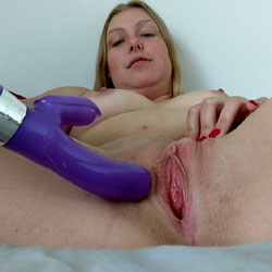 Wet And Juicy Pink Pussy Ready To Fuck!! - Big Tits, Masturbation, Shaved, Toys