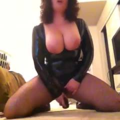 You Wanna See My Breasts? - Big Tits, Brunette, Toys