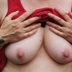 Medium tits of my wife - JB Wofe