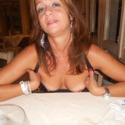 Another Night With Me - Big Tits, Flashing, Public Exhibitionist, Public Place