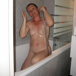 Bathroom - Big Tits, Brunette