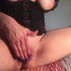 New Toy Is Big - Big Tits, Masturbation, Shaved, Toys