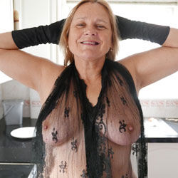 Sexy At Sixty - Big Tits, Blonde, Lingerie, Mature