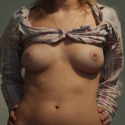 Small tits of a neighbor - Georgie
