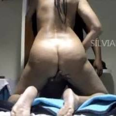 SilviaRecife And Friend After Beach - Anal, Ass Fucking, Brunette, Girl On Guy, Penetration Or Hardcore