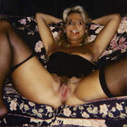 My First - Blonde, Lingerie, Wives In Lingerie