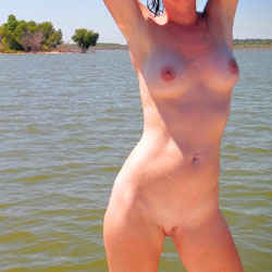 Fun On The Boat - Big Tits, Shaved