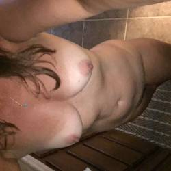 Medium tits of my girlfriend - Jan P