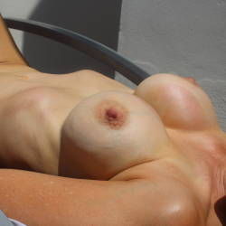 Large tits of my wife - Giss