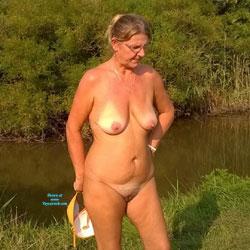 Tottu In The Fields - Nature, Mature, Big Tits, Wife/Wives