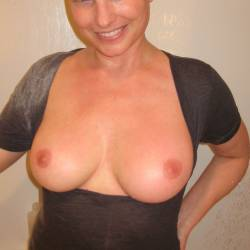 Large tits of my wife - Jenna