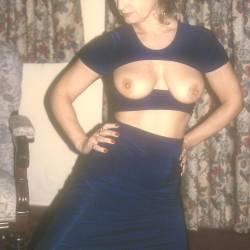 Medium tits of a neighbor - Yvonne