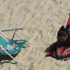Micro Bikini, Recife City, Brazil - Beach Voyeur, Bikini Voyeur, Brunette