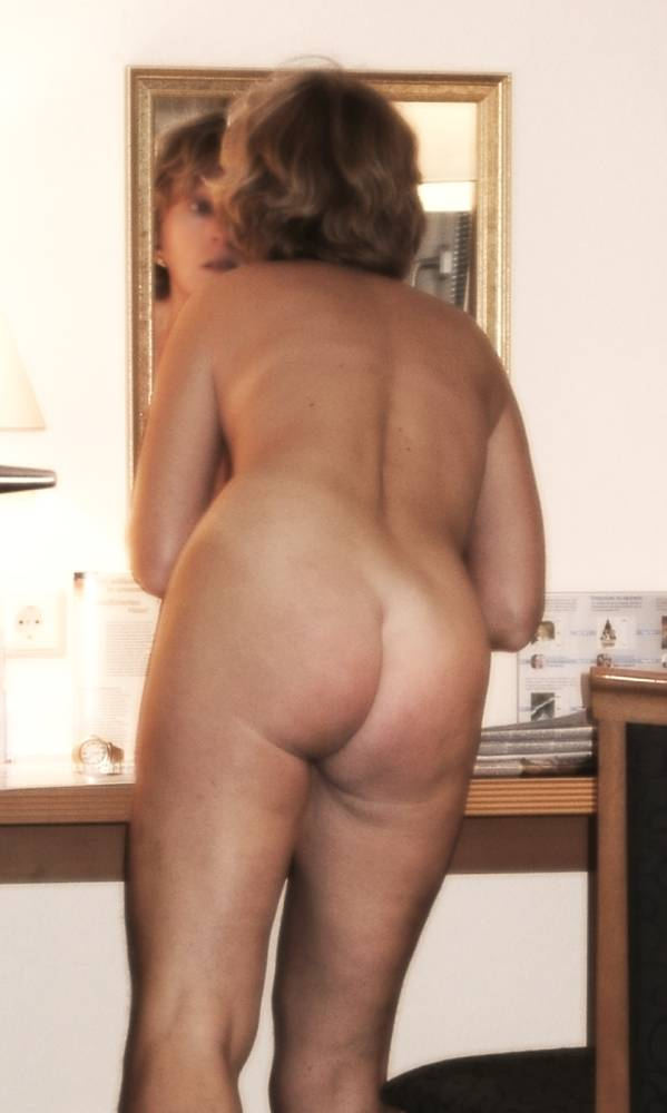 My exwife ass at work