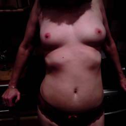 Medium tits of my girlfriend - UK couple