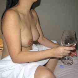 Little Fun At Hotel - Big Tits, Brunette, Wife/Wives