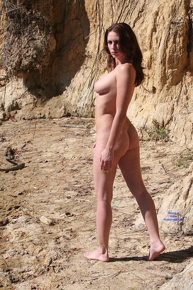 Pic #1 Riverside Beach - Big Tits, Brunette
