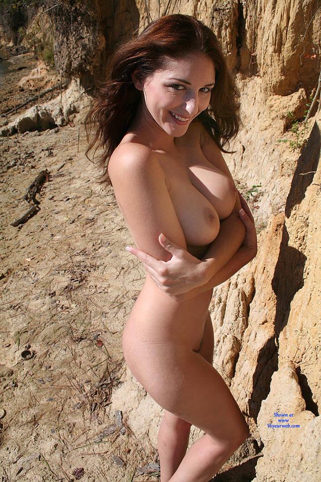 Pic #2 Riverside Beach - Big Tits, Brunette