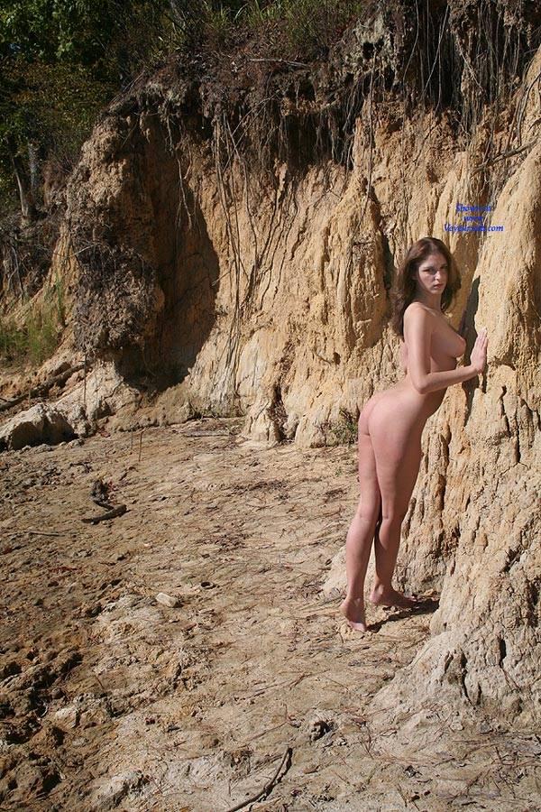 Pic #3 Riverside Beach - Big Tits, Brunette