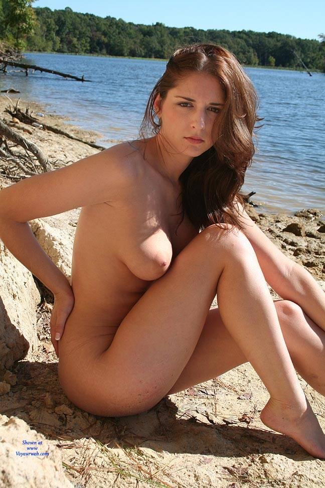 Pic #9 Riverside Beach - Big Tits, Brunette