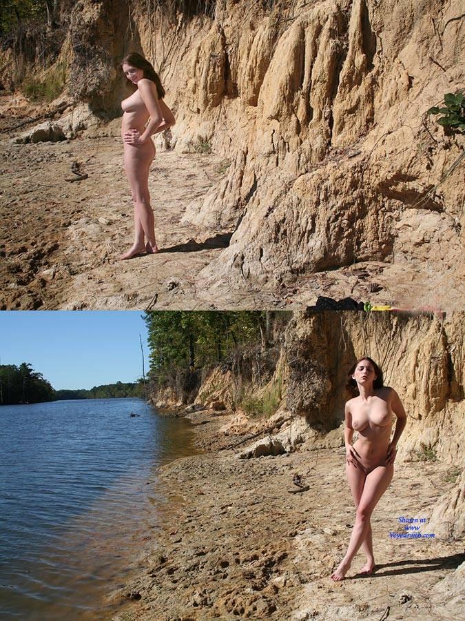 Pic #10 Riverside Beach - Big Tits, Brunette
