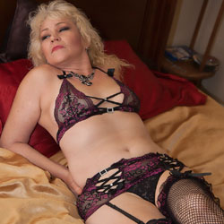 Hot MILF At Home Pt 2 - Blonde, High Heels Amateurs, Lingerie