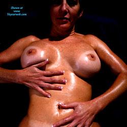 Oiled Suntan - Big Tits