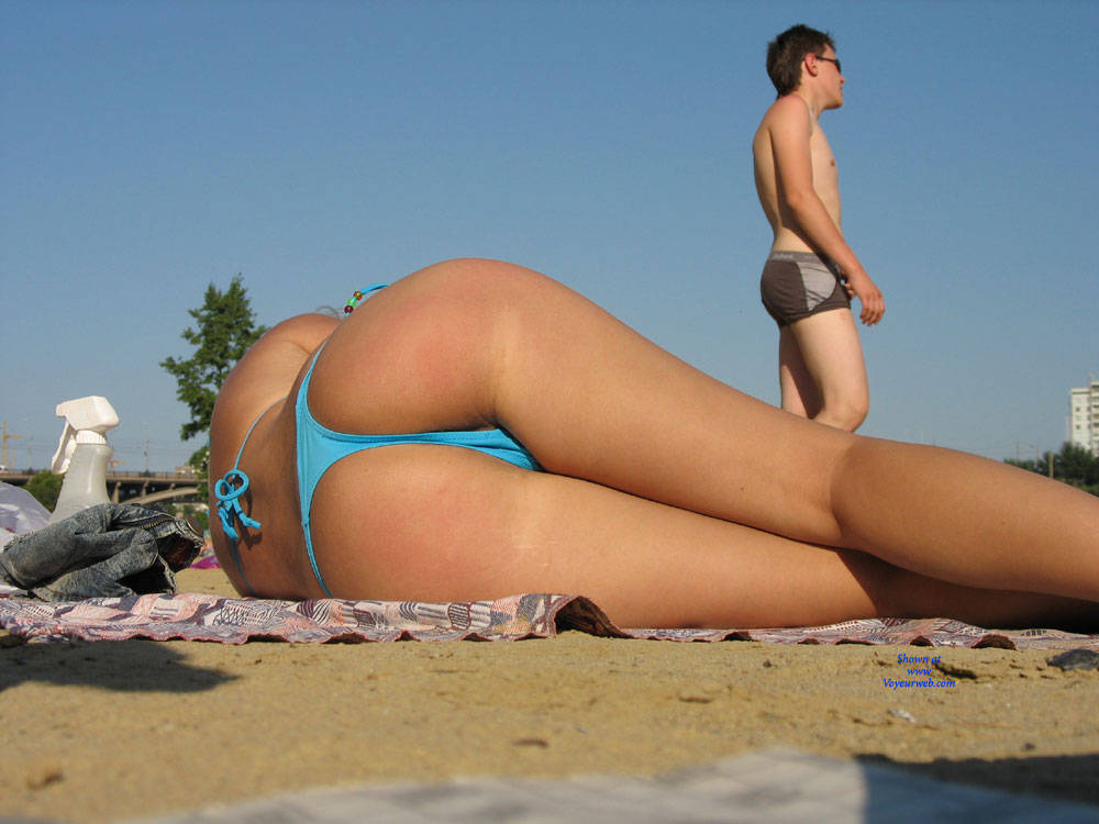 Pic #4 Incroyable Vue ce Matin sur la Plage - Beach Voyeur, Bikini Voyeur