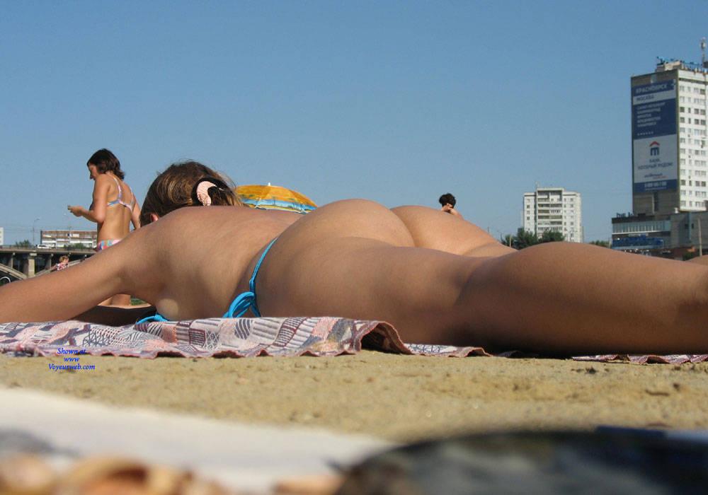 Pic #1 Incroyable Vue ce Matin sur la Plage - Beach Voyeur, Bikini Voyeur