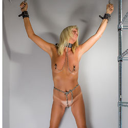 Hubby Says That I Am A Bad, Bad Girl! - Shaved, High Heels Amateurs, Blonde, Wife/Wives